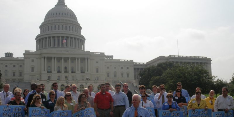 Gulf State Residents Bring Message To Capitol