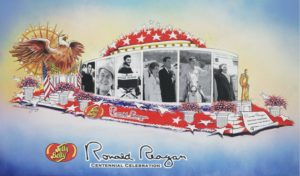 Reagan Centennial Rose Bowl Float