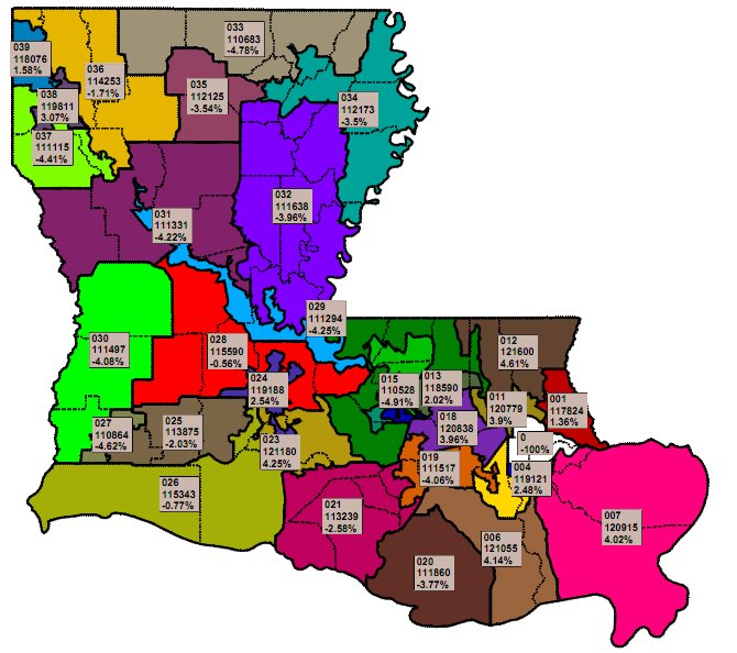 Louisiana Voting Districts Map afputracom