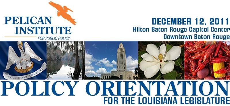 Pelican Institute Announces Policy Orientation Program For Leges, General Public Dec. 12
