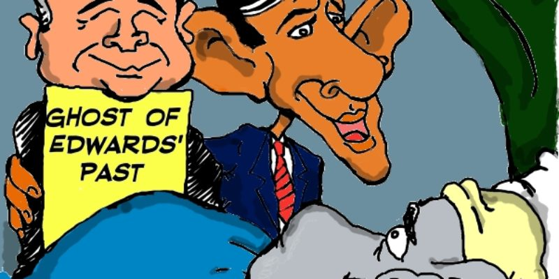 Hayride Cartoon: A Bobby Jindal Christmas Carol