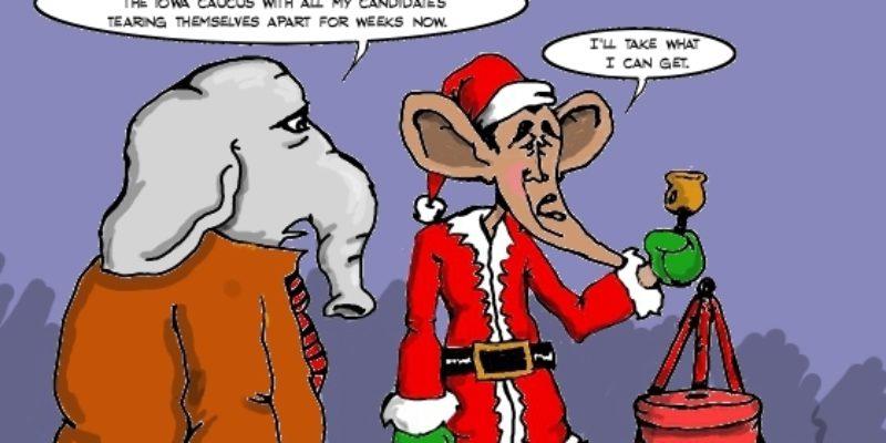 Hayride Cartoon: The Salvation Obama