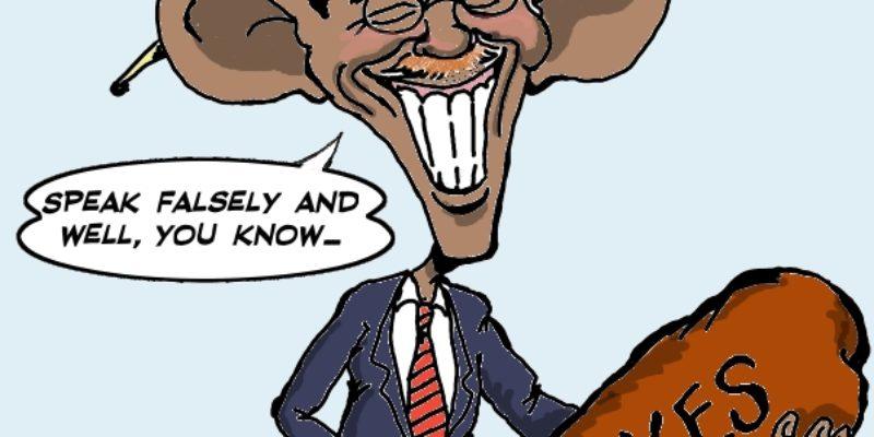 Hayride Cartoon: Teddy Obama