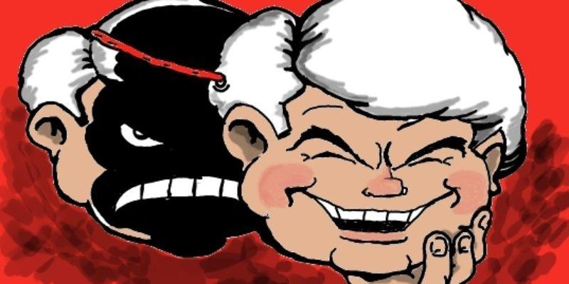 Hayride Cartoon: No More Mr. Nice Newt