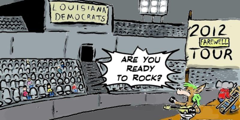 Hayride Cartoon: Louisiana Democratic Party On Tour