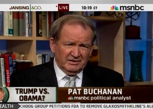 More MSNBC Hypocrisy On Display By Booting Buchanan