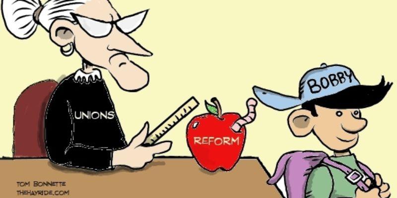 Hayride Cartoon: Lil' Bobby's Gift To Teacher