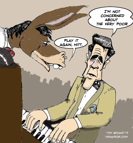 cartoons mitt romney and he poor