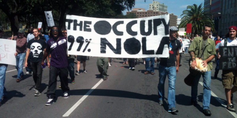 Those Wacky Occupy NOLA Zombies Are Back With A Funeral For The Gulf Of Mexico…