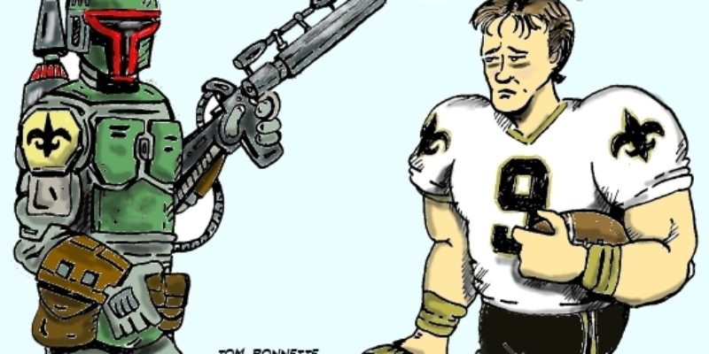 Hayride Cartoon: Could The Saints Bounty Scandal Be Worse Than We Know?