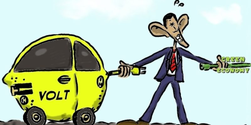 Hayride Cartoon: Not Enough Juice For This Lemon