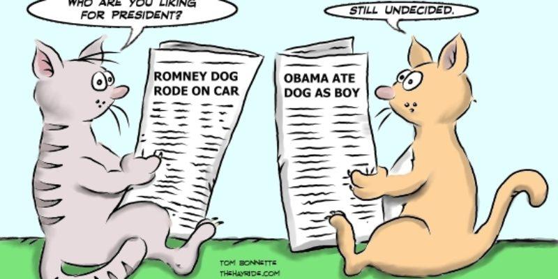 Hayride Cartoon: A Tough Choice