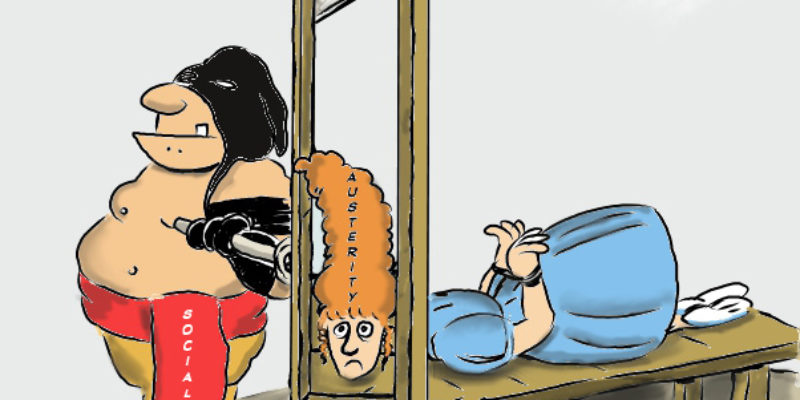 Hayride Cartoon: C'est Fini…