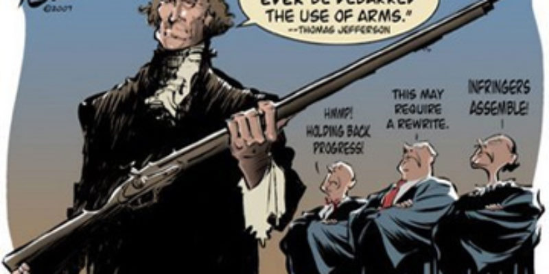 Jarvis DeBerry's Predictably Stupid Column Attacking The 2nd Amendment