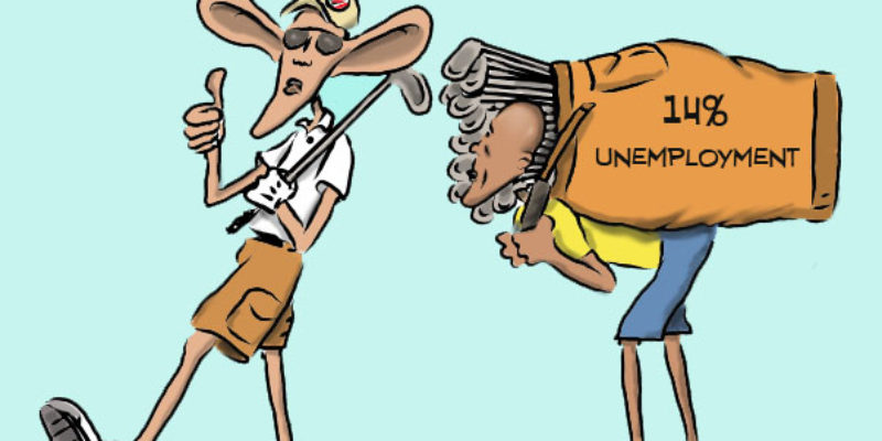 Hayride Cartoon: I Know I Can Count On Ya
