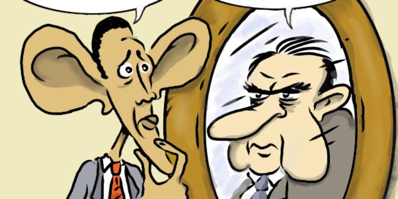 Hayride Cartoon: Mirror, Mirror On The Wall