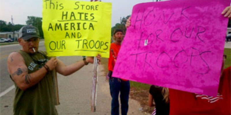 The Bogalusa 'Won't Serve The Military' Gas Station Kerfuffle