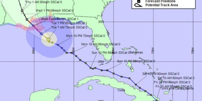 Tuesday Morning Isaac Update