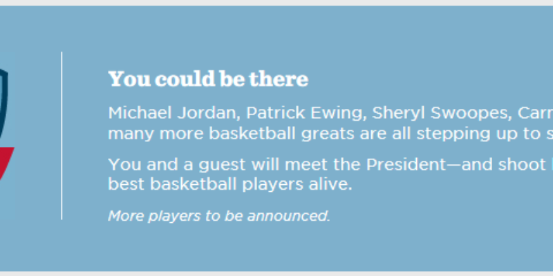 You Could Win A Chance To Play With Obama's Balls