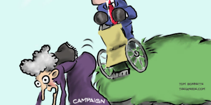 Hayride Cartoon: Well, She Was Sick Anyway…