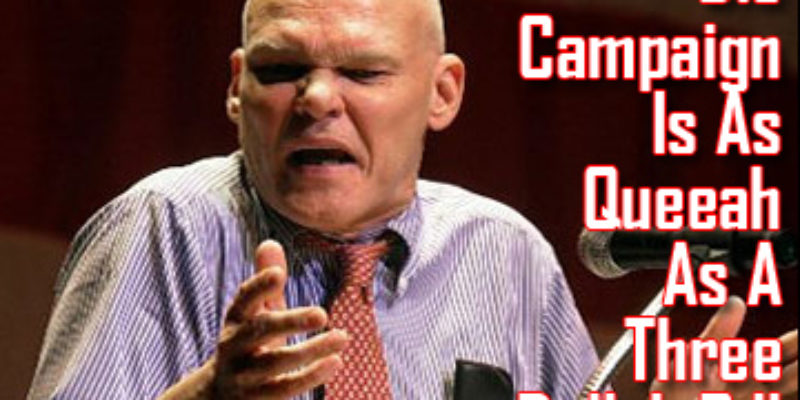 James Carville's Latest Fundraising E-Mail To The Dems