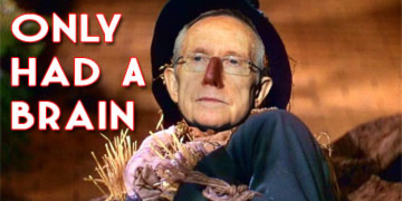 Harry Reid Gets Even Dumber, If You Can Believe It