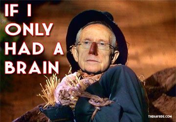 HARRY REID If I only had a brain