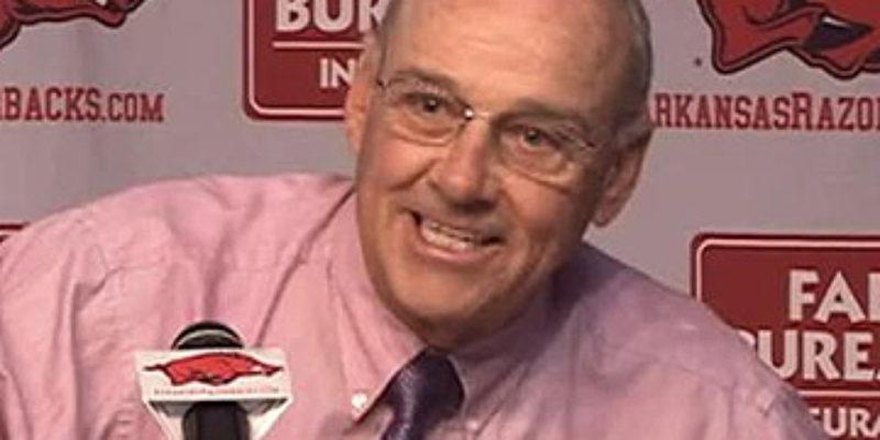Arkansas Has A Crazy Man For A Football Coach…