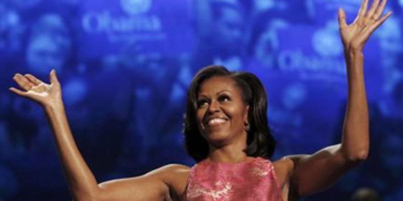 Hi. I Have A Question About Michelle Obama's Speech Last Night…