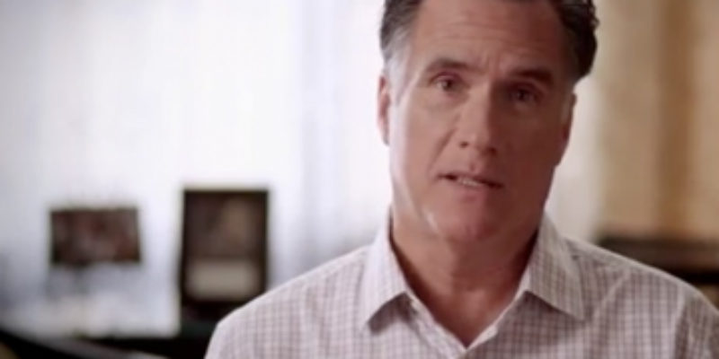Romney's 'Too Many Americans' Ad