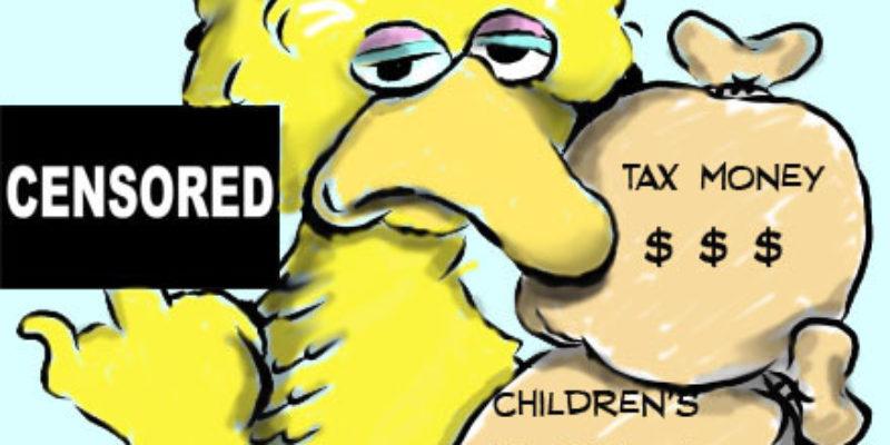 Hayride Cartoon: A Really Big Bird