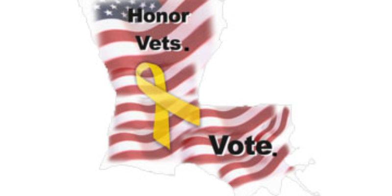 Louisiana Secretary Of State Debuts The 'Honor Vets. Vote' Program