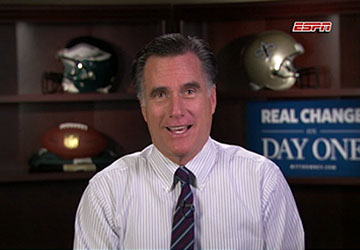 Obama vs. Romney – The Monday Night Football Interviews