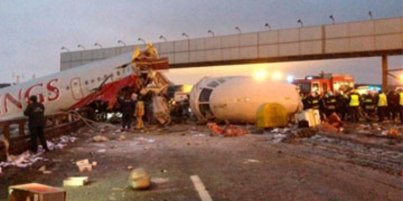 VIDEO: A Plane Crash Captured On A Dashcam