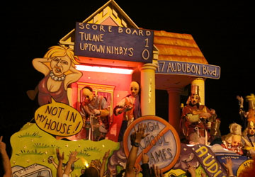 BAYHAM: Top Satire At Mardi Gras 2013