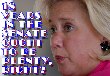 HERE COMES TROUBLE: Mary Landrieu's Going To Vote For Gun Control