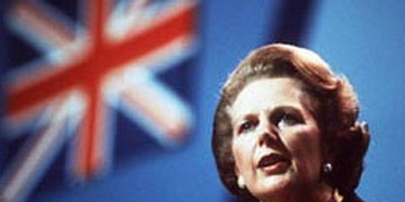 Remembering Margaret Thatcher Today