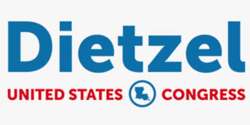 BREAKING: Dietzel Announces For Cassidy's Congressional Seat