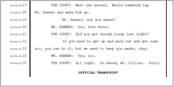 kanner transcript