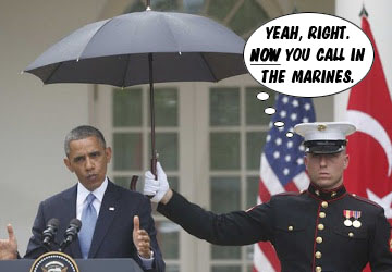 now you call in the marines
