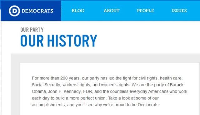 democrat history