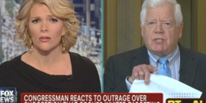 Wanna See Megyn Kelly Rip Jim McDermott's Lungs Out And Feed 'Em To Him?