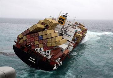 listing ship