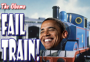 How Many Different Cars Does The Obama Fail Train Have Today?