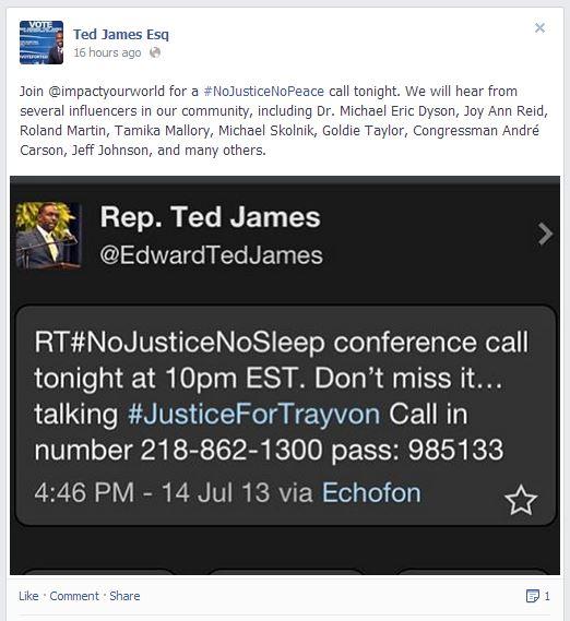 ted james no justice no sleep