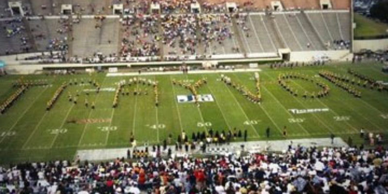 JUST GREAT: How About Alabama State's Band At Halftime?