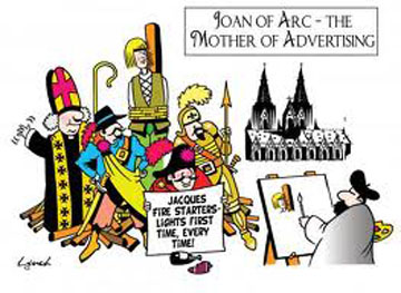 Joan of Arc - Mother of Advertising