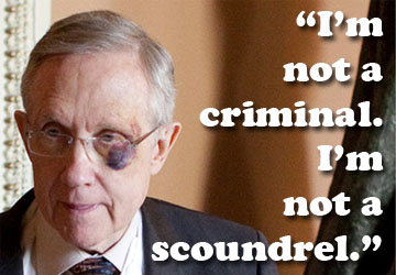 VIDEO: Harry Reid Hates Kids With Cancer