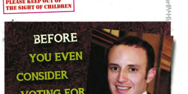 Is This The Most Brutal Campaign Mailer You've Ever Seen?
