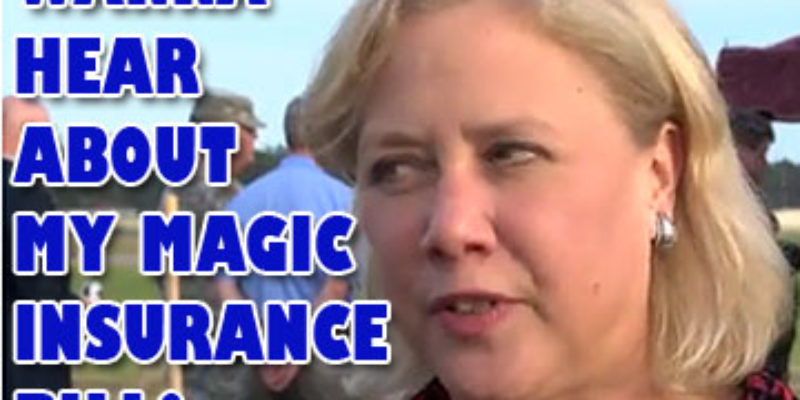 Mary Landrieu, On The Stump In Hammond, Pushes Her Obamacare Fix